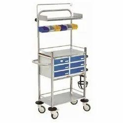 Crash Medication And Surgical Cart
