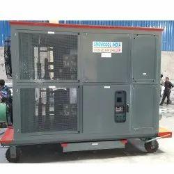 Three Phase Mobile Air Chiller, 280 V