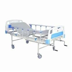 Semi ICU Bed With ABS Panel And Collapsible Railing