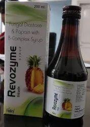 Fungal Diastase Papain B Complex Syrup