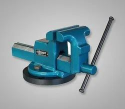 Cast Iron Orcan Drop Forged Bench Vice, For Industrial, Base Type: Fixed