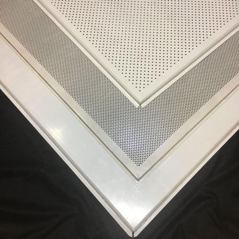 Gypsum White 2 x 2 Feet False Ceiling Grid Tiles ...