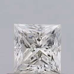 Princess 0.51ct H SI2 Natural HPHT IGI Certified Natural Diamond