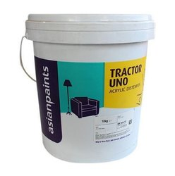 Asian Paints Matt Tractor Uno Acrylic Distemper Paint, Packaging Type: Bucket