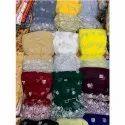 Silver Zari Dupatta Fabrics