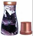 Iris Copper Printed Pot, For Home, Capacity: 1000ml