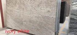 Slab Colonial White Granite, Thickness: 18 mm