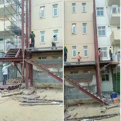 Steel Frame Structures Industrial Construction Service, in Delhi
