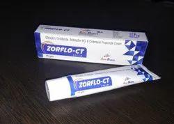 Ofloxacin Ornidazole, Terbinafine HCL ,Clobetasol Propionate 15gm Cream