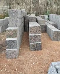 Polished Square Granite Tile, For Flooring, Thickness: 16.5 mm