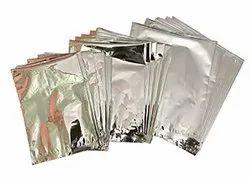 Plastic Silver Pouch