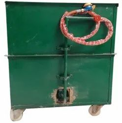 Mild Steel MS Square Gas Tandoor