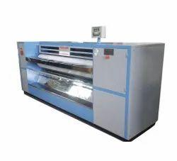 Semi-Automatic Flatwork Ironer Calendar Machine, For Laundry Ironing, 12 Kw
