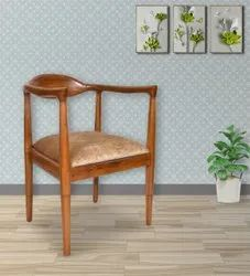 Wooden chair with arms restaurant chair