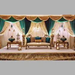 Wedding Sofa Stage Setup