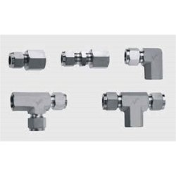 SS304 Stainless Steel Instrumentation Tube Fittings, For Chemical Plants