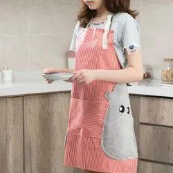 Nevue Cotton Front Pocket Apron, For Kitchen, Size: Medium