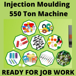24 Hrs Plastic Injection Molding Job Work Services, Indore, 2.2 Kgs