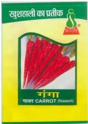 Hybrid Carrot Seed, Packaging Size: 500 Gm