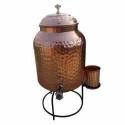 Pure Copper Water Storage Matka