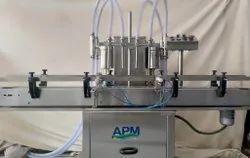 Pesticide Four Head Liquid Filling Machine