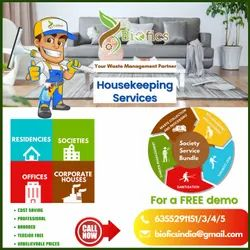 7-9 Hours Housekeping Services Residential Housekeeping Service