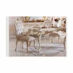 Teak Wood Designer Dining Table