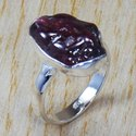 925 Sterling Silver Jewelry Natural Coral Gemstone Rings SJWR-738
