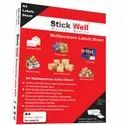 A4 Fluorescent Color Sheets ( 210mm X 297mm ) Stickwell