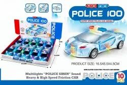 Plastic High Speed Friction Car Toy