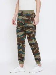 Harbornbay Men Printed Track Pants With Zip Pockets