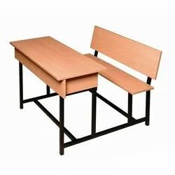College Desk And Bench