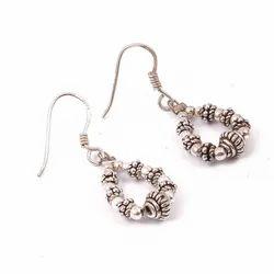 Girl Fancy 925 Sterling Silver Earring