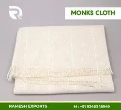 100% Cotton Monks Embroidery Fabric Swedish Cloth