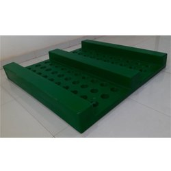 SIC Green Industrial Plastic Pallet, Capacity: 1000 Kg