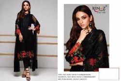 Pakistani Desing Foux Georgette Rinaz