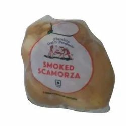 Smoked Scamorza Scarmoza Cheese, For Restaurant, Packaging Type: Pouch