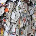 Mix Onp White Waste Newspaper Scrap, For Recycle For Paper Mills