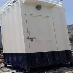 Single Compartment Mild Steel Portable Toilet