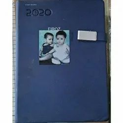 3-4 Days Pu Leather Personalized Diaries Printing Services, in Delhi Ncr, Size: A3