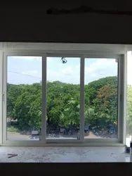 Glossy Powder Coated Aluminium Window