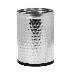 FORTUNE BLU STAINLESS STEEL HAMMER DUSTBIN (7 LTR )