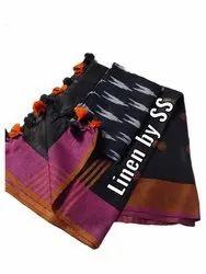 Linen Suit Fabric, GSM: 185