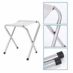 Multicolor Mild Steel Portable Folding Chair, Outdoor Indoor Compact Ultra, Size: 36*54