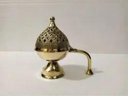 Brass Incense Burner Dhuna Lobaandan