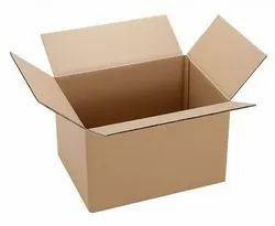 Die-Cut Double Wall 5 Ply Corrugated Boxes, Weight Holding Capacity (Kg): 5 - 10 Kg