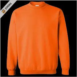 Zooks Unisex Sweatshirts Fleece Orange
