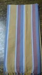 Striped Cotton Towel, For Bathroom