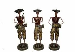 Iron Musical Pagdi Men Showpiece, For Decoration, Packaging Type: Packet