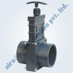 Hand Lever Operated UPVC Gate Valve